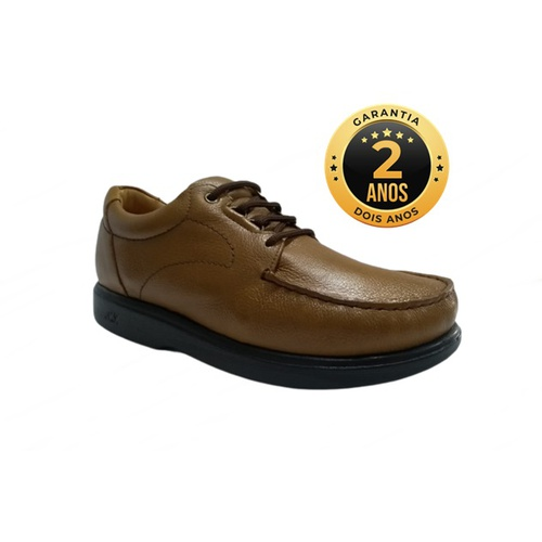 Sapato masculino para pés diabéticos – Palermo - W... - NATURAL STEP