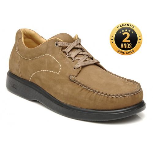 Sapato masculino para pés diabéticos - Palermo - N... - NATURAL STEP