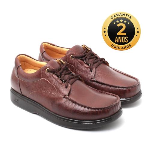 Sapato masculino para pés diabéticos - Palermo - C... - NATURAL STEP