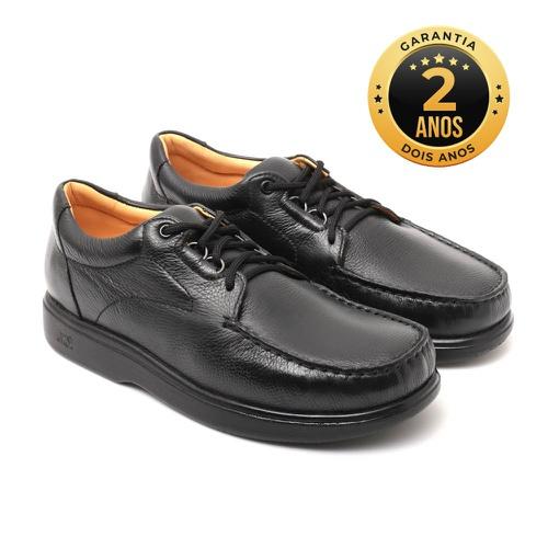 Sapato masculino para pés diabéticos - Palermo - P... - NATURAL STEP