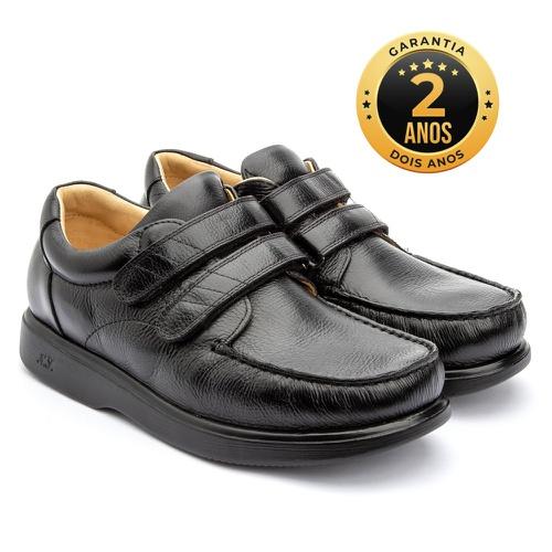 Sapato masculino - Stuart - Preto - NATURAL STEP