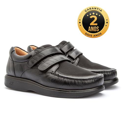 Sapato masculino - Valentino - Preto - NATURAL STEP