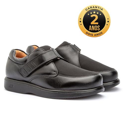 Sapato masculino - Verona - Preto - NATURAL STEP