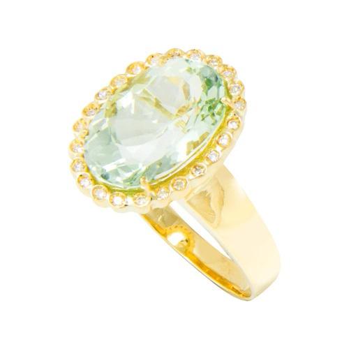 Anel Feminino Vazado em Ouro 18k com Diamantes Cop... - NORTHOFF - Sonhos em Ouro 18k!