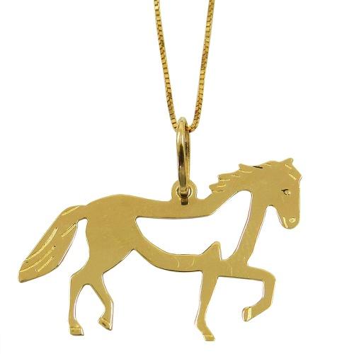 Pingente Cavalo Araguaia em ouro