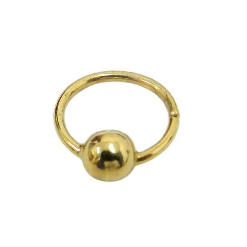 Piercing Argola em ouro 18k para Septo, Mamilo e Lábio