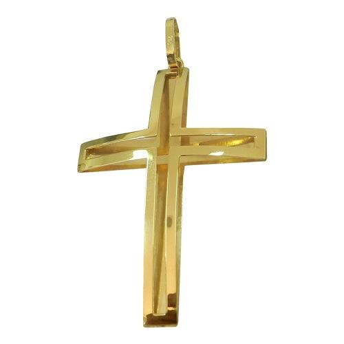 Pingente Cruz Vazada em ouro 18k 0,750
