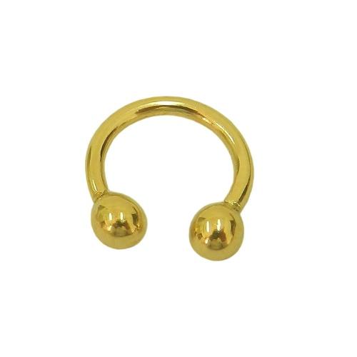 Piercing de Septo e Orelha em Ouro 18k 0,750