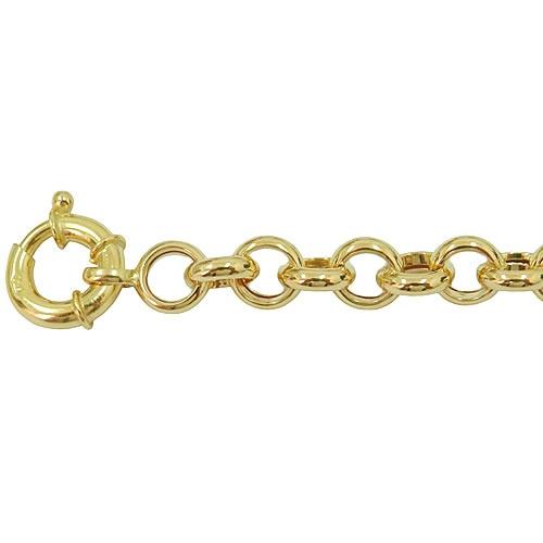 Pulseira em ouro feminina Elo Português 7,7g