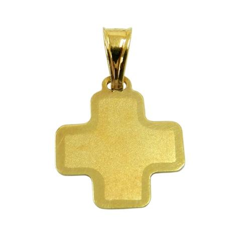 Pingente em ouro 18k Cruz