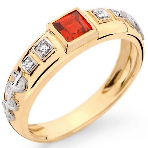 Anéis de Formatura Direito em Ouro 18k com Pedras Sintéticas