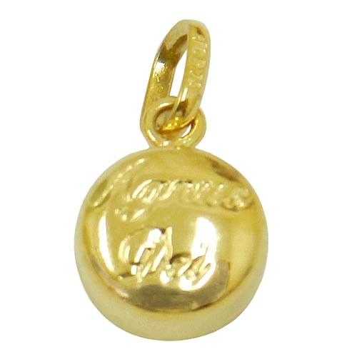 Pingente de ouro 18K Agnus Dei Pequeno