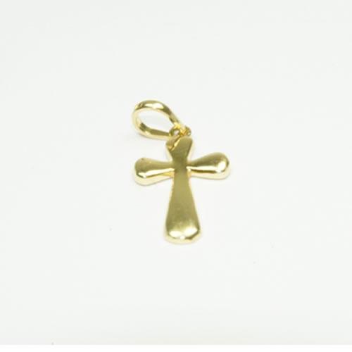 Pingente Cruz em ouro
