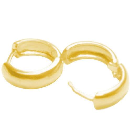 Brincos de Argolas em Ouro
