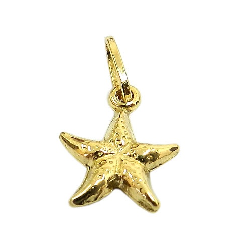 Pingente de ouro Estrela do Mar