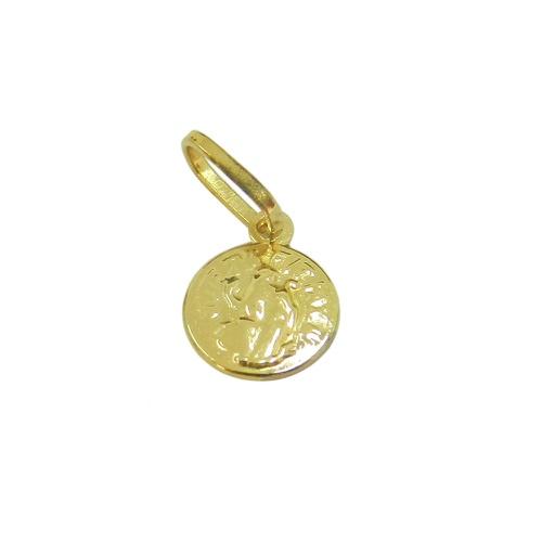 Pingente em ouro São Bento Mini
