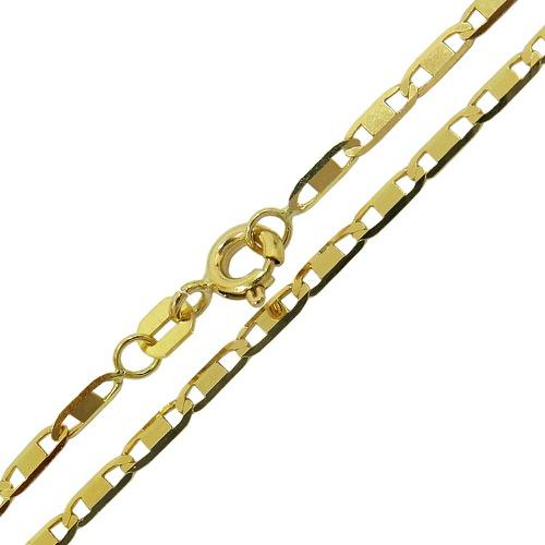 Correntes Piastrine em Ouro Masculina