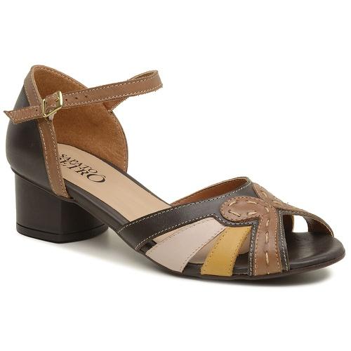 Sandália Peep Toe Retrô - Lucy - 600-01 - Sapato RetrÔ