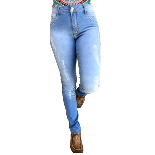 Calça Jeans Feminina Bill Way 4045