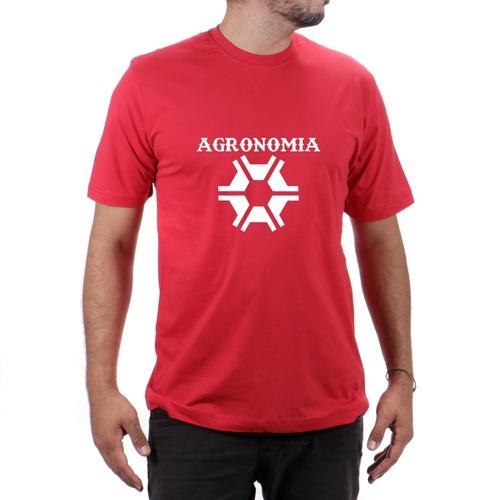 Camiseta Agronomia Vermelha - TEXASKING
