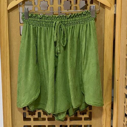 Shorts Luna Plus Size Verde - Via Sol Brazil
