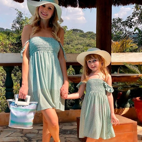 Vestido Mãe e Filha Viena