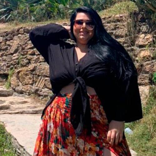Kimono Plus Size Liz Preto - Via Sol Brazil