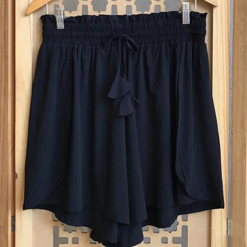Shorts Luna Plus Size Preto - Via Sol Brazil