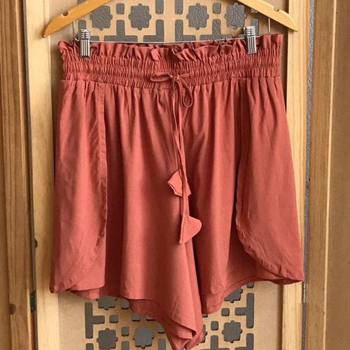 Shorts Luna Plus Size Terracota - Via Sol Brazil