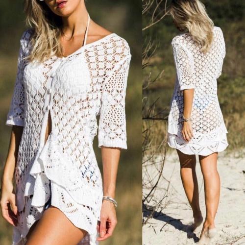 Kimono Tricot Branco Gipsy - Via Sol Brazil