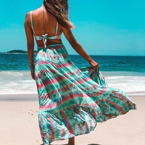 Saia Maya Tie Dye Vibes - Via Sol Brazil