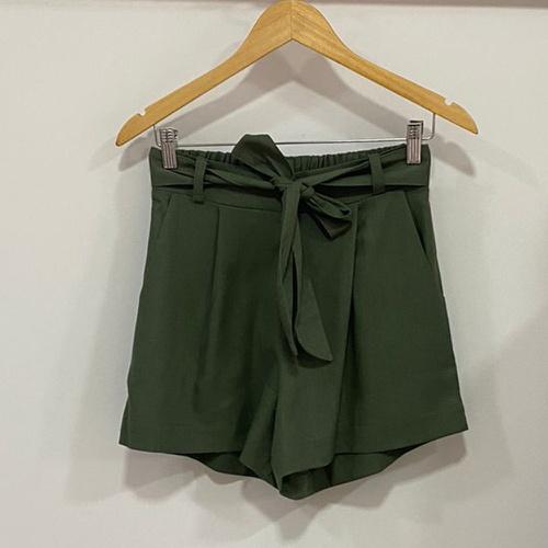Shorts Alana Verde Miltar - Via Sol Brazil