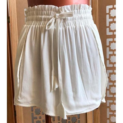 Shorts Luna Off White - Via Sol Brazil