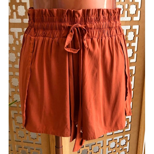 Shorts Luna Terracota - Via Sol Brazil