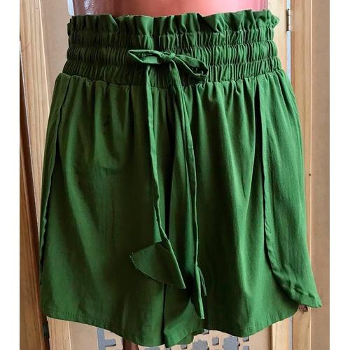 Shorts Luna Verde Militar - Via Sol Brazil