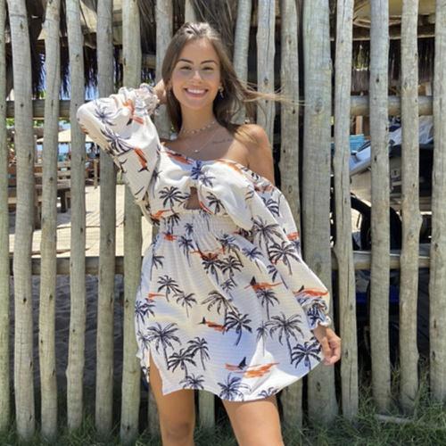 Vestido Essência Coqueiros - Via Sol Brazil