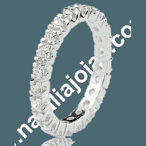 Anel de Prata 925 com pedra AN26