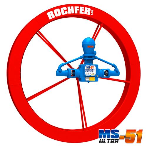 Bomba ROCHFER ULTRA-51 + Roda D'água 1,90 x 0,17 m