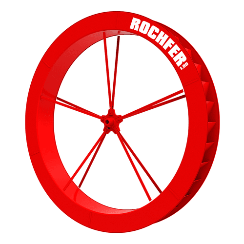 Roda D'água 1,90 x 0,25 m - Série B