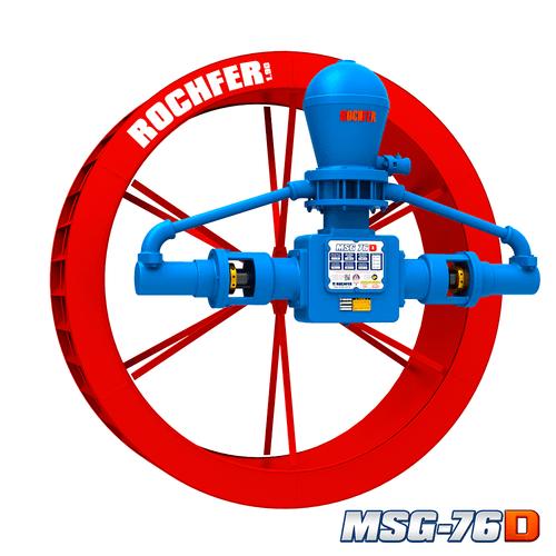 Bomba Rochfer Msg-76d + Roda D'água 1,90 x 0,47 m
