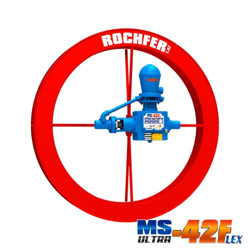 Bomba Rochfer Ultra-42 Flex + Roda D'água 1,37 x 0,13 m