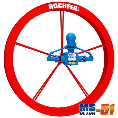 Bomba Rochfer Ultra-51 + Roda D'água 2,20 x 0,17 m