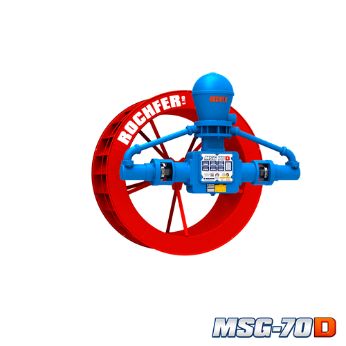 Bomba Rochfer Msg-70d + Roda D'água 1,10 x 0,47 m