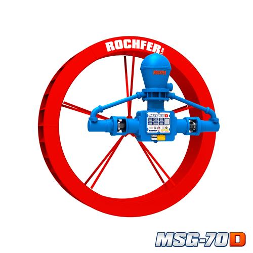 Bomba Rochfer Msg-70d + Roda D'água 1,90 x 0,36 m