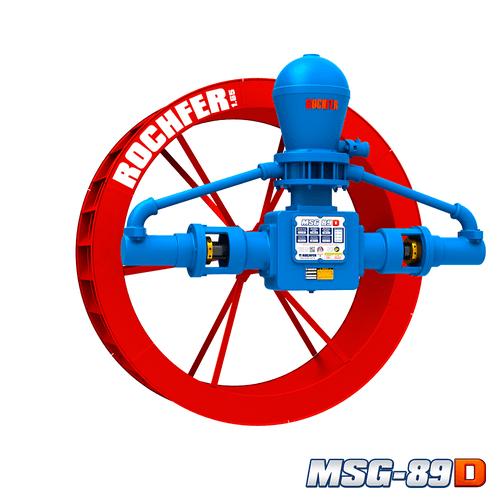 Bomba Rochfer Msg-89d + Roda D'água 1,65 x 0,47 m