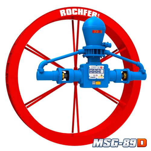 Bomba Rochfer Msg-89d + Roda D'água 2,20 x 0,36 m