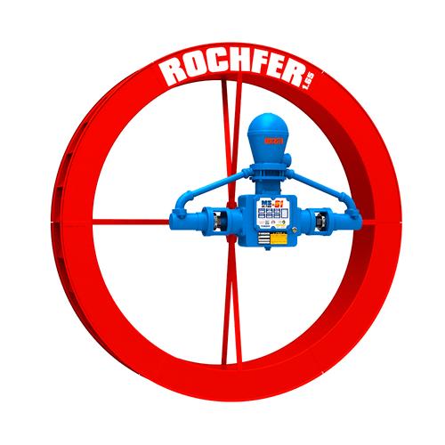 Bomba Rochfer Ultra-51 + Roda D'água 1,65 x 0,25 m