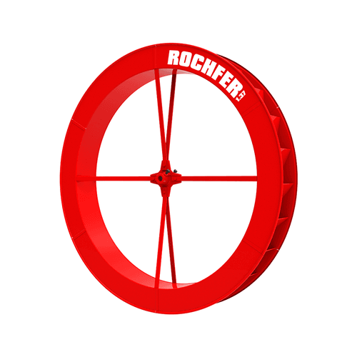 Roda D'água 1,37 x 0,17 m - Série a