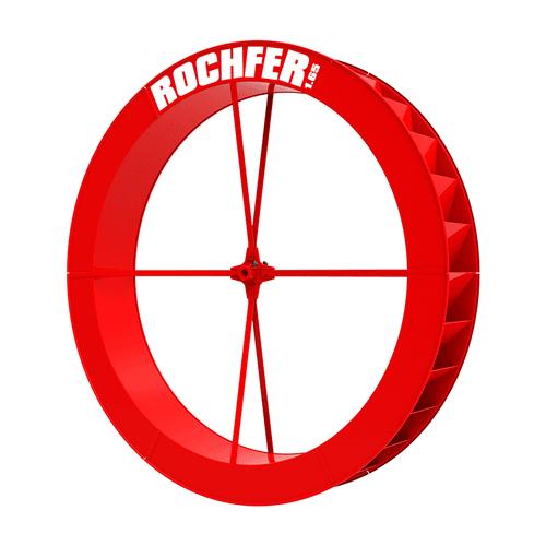 Roda D'água 1,65 x 0,25 m - Série a
