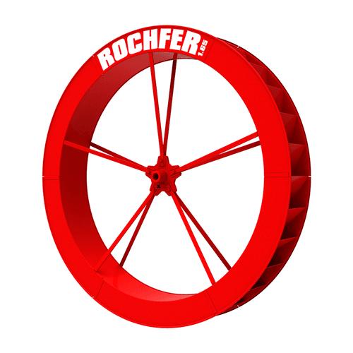 Roda D'água 1,65 x 0,25 m - Série B